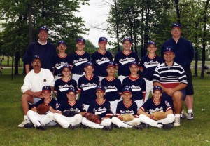 New Berlin Magic Baseball Team (4th grade)