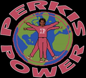 Perkis Power Logo for Tony Perkis Halloween Costume