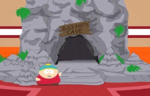 Cartman at Black Bart's Cave