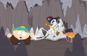 Cartman in Black Bart's cave