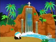 Cartman near Casa Bonita Cliff Diver
