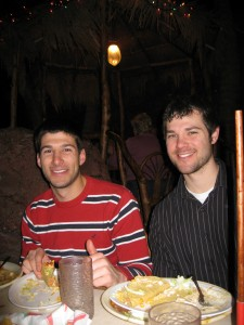 Lee and I at Casa Bonita