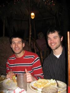 Lee and I at Casa Bonita