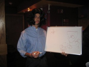 UPS Whiteboard Guy Halloween Costume