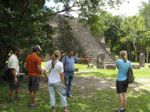 Our guide in Tikal