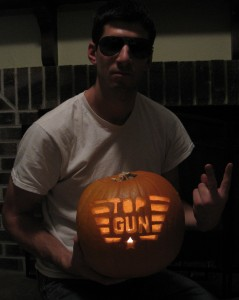 Top Gun Pumpkin