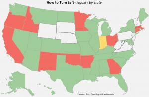 Left Turn Map