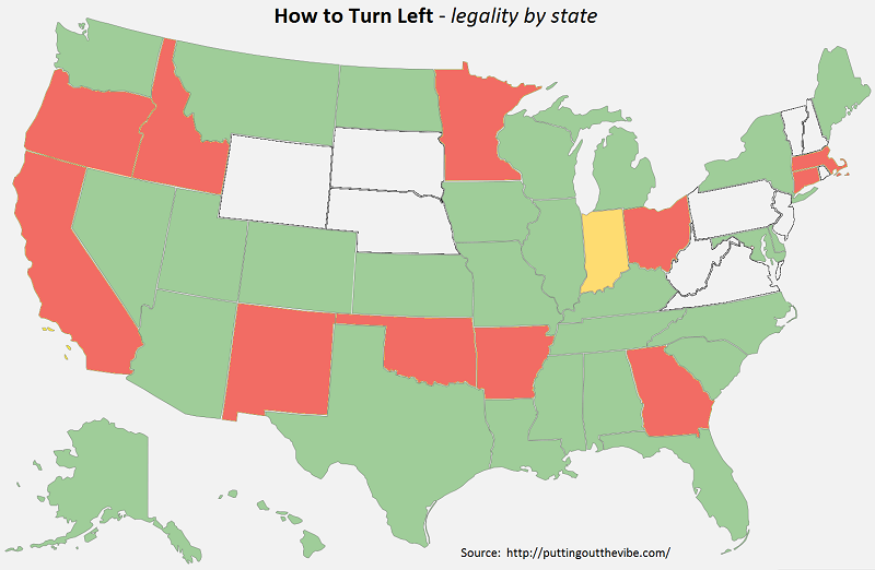 Left Turn Map